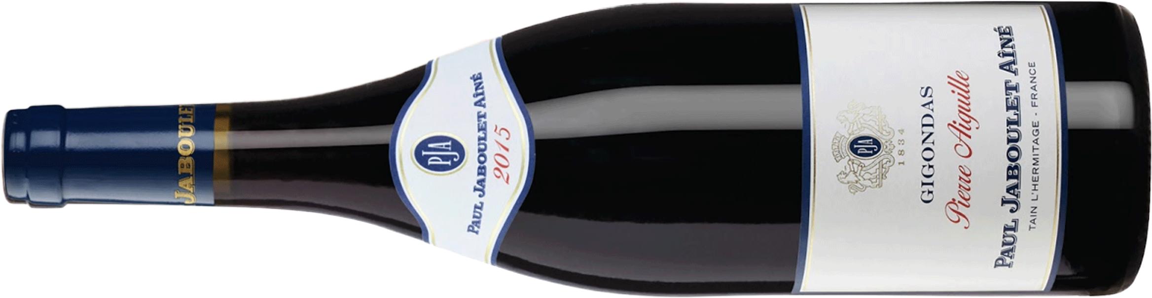 2015 Paul Jaboulet Aine Gigondas Pierre Aiguille Bottle