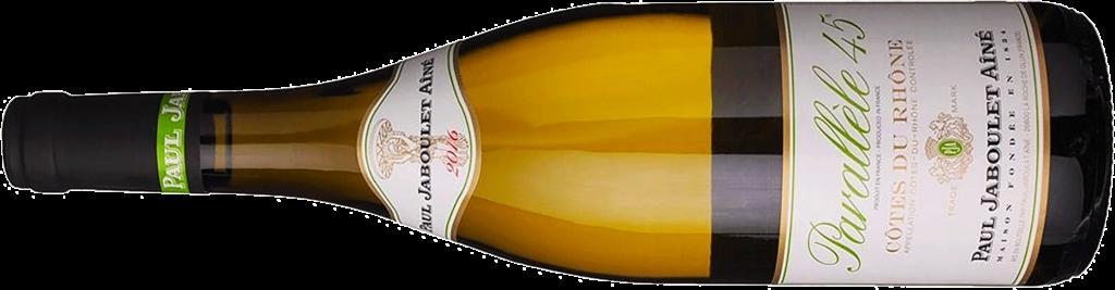 2016 Paul Jaboulet Aîné Côtes du Rhône P45 Blanc Bottle