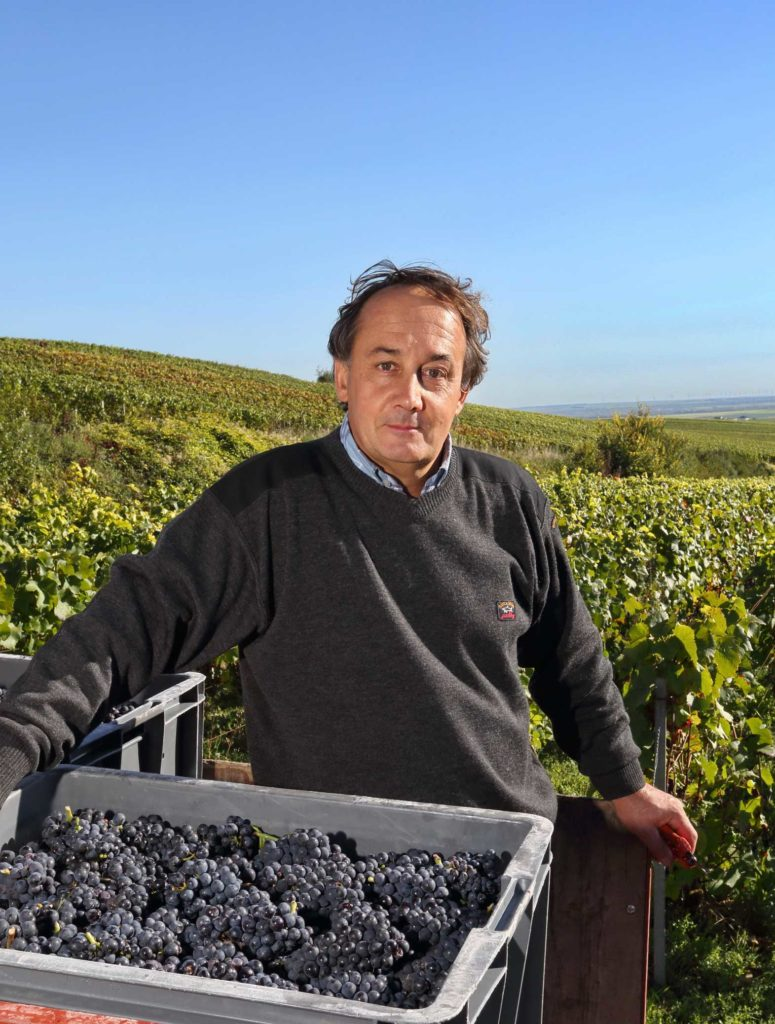 Owner and Winemaker Francis Egly
