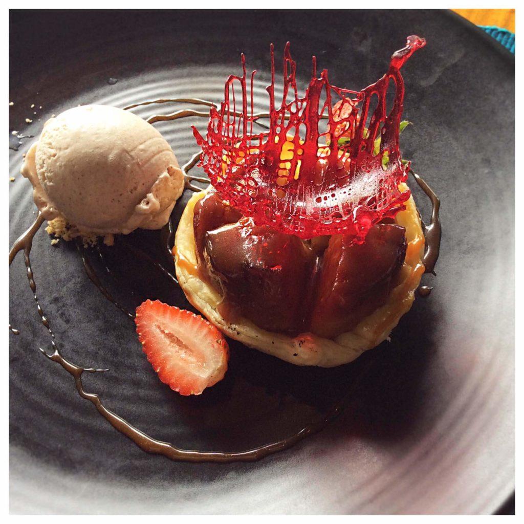 Dessert dish at Vomo