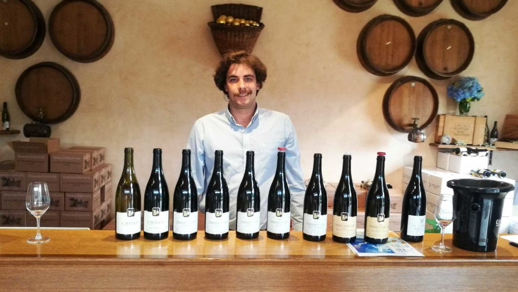 Romain Collet of Domaine Jean Collet et Fils