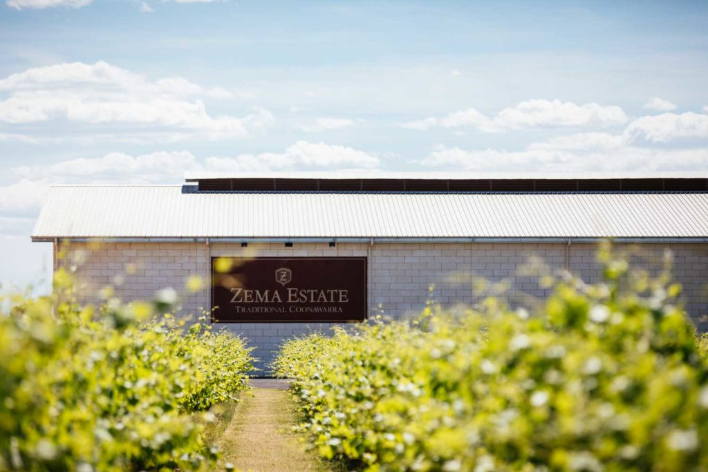 The Zema Estate in Coonawarra, South Australia
