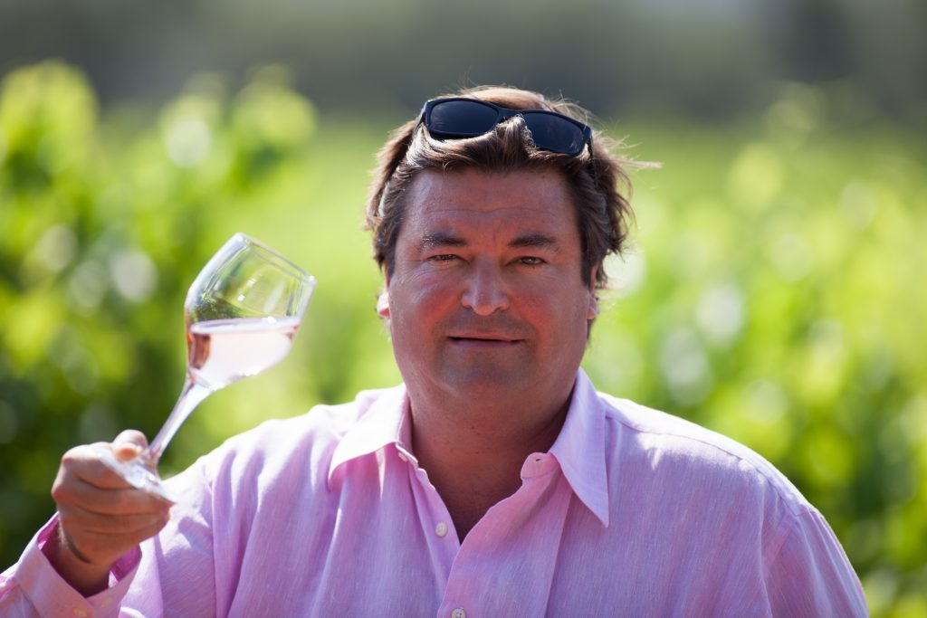 Sacha Lichine of Chateau d'Esclans rose