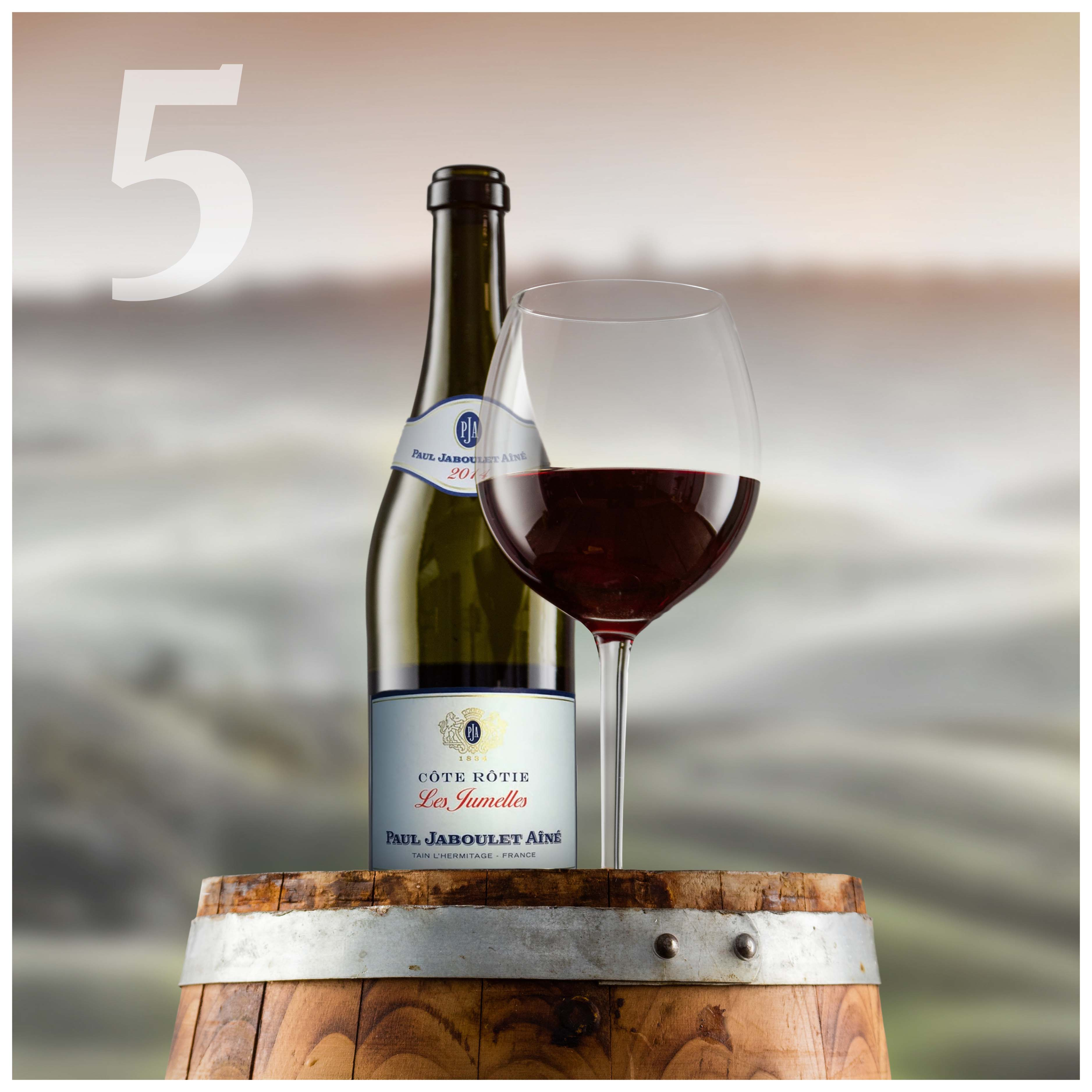 2014 Paul Jaboulet Aine Cote Rotie Les Jumelles Wine