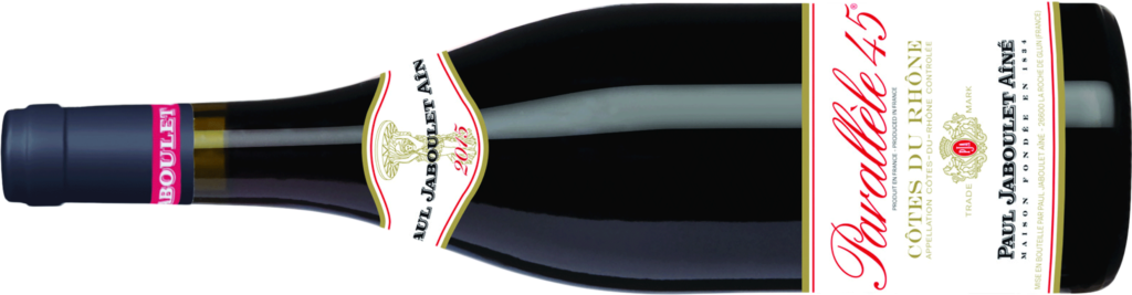 2015 Paul Jaboulet Aine Cotes du Rhone P45 Red Bottle