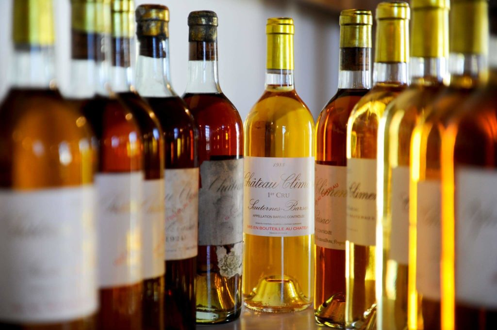 Chateau Climens Wine Bottles