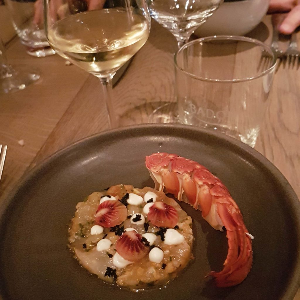 Crayfish at Paris Butter Auckland Dinner