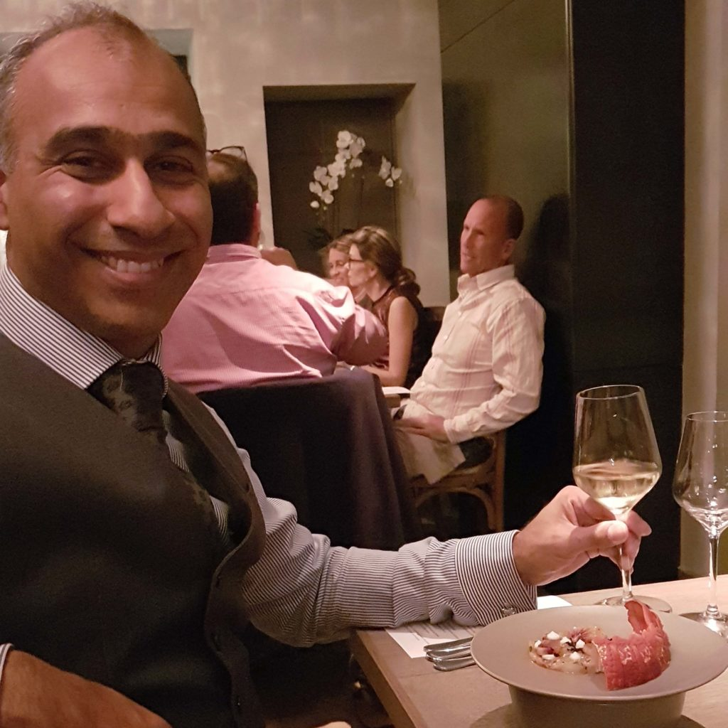 Puneet Dhall at Paris Butter Auckland Dinner