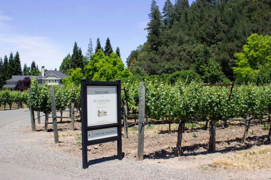 Duckhorn Vineyards in Napa Valley