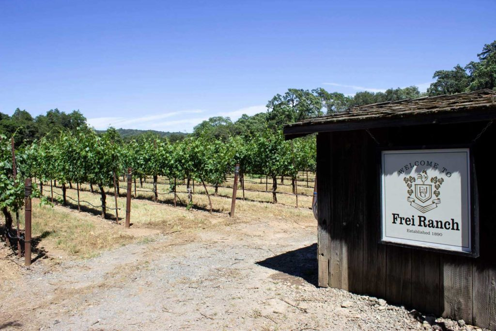 Frei Wine Ranch in Sonoma County, California