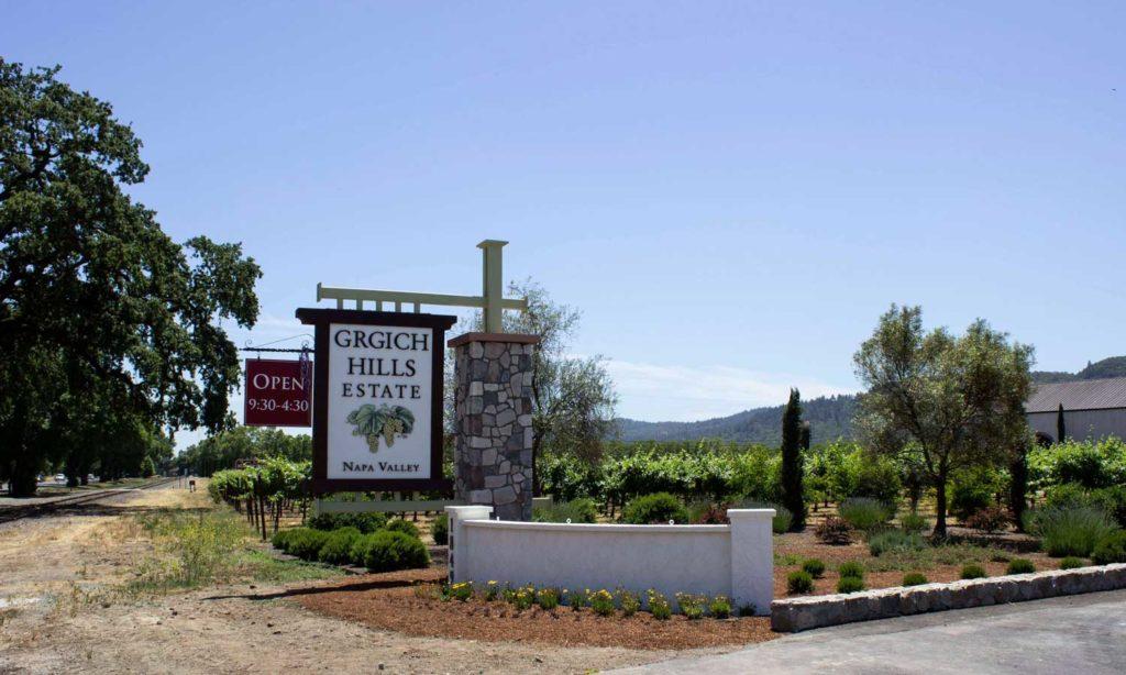 Grgich Hills Estate in Napa Valley