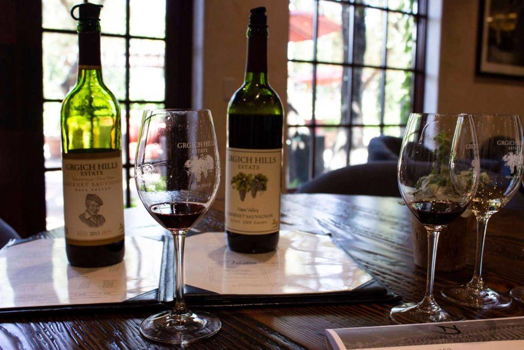 Grgich Hills Estate Wine Tasting, Napa Valley