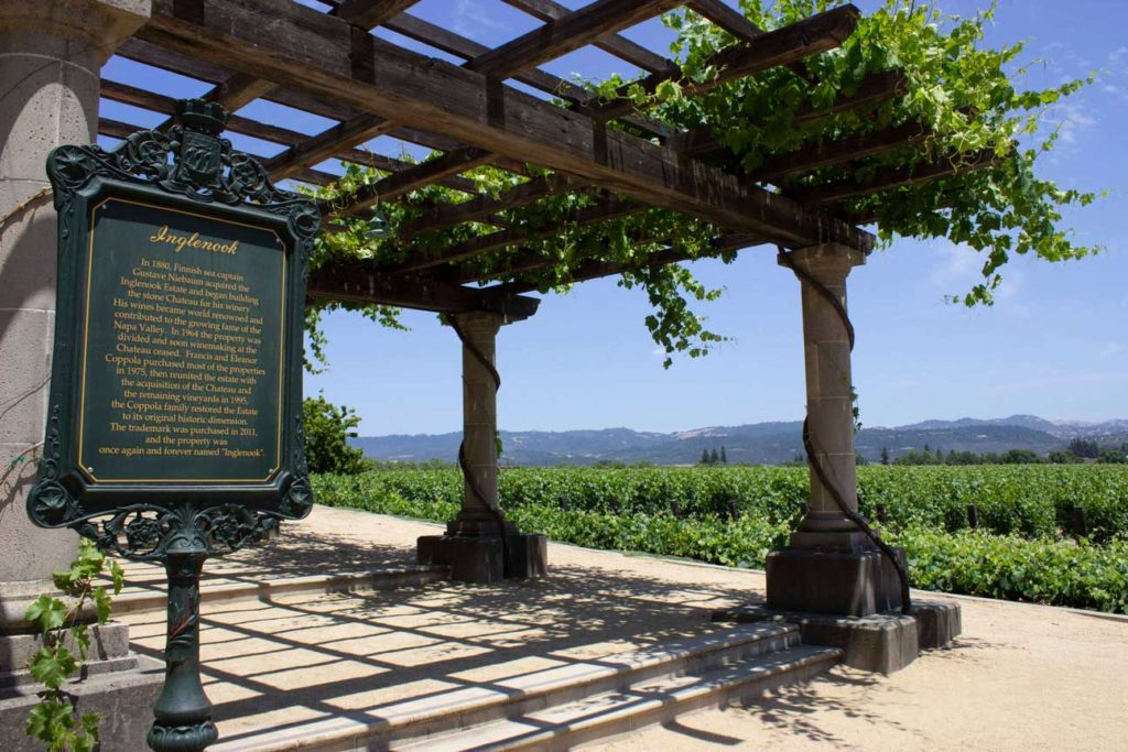Inglenook vineyard, California