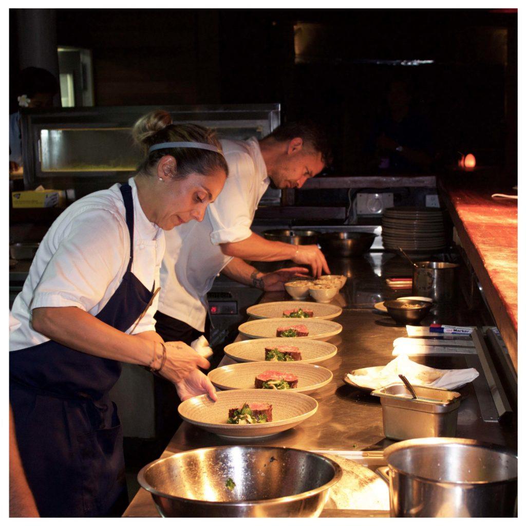 Masu chefs at Vomo