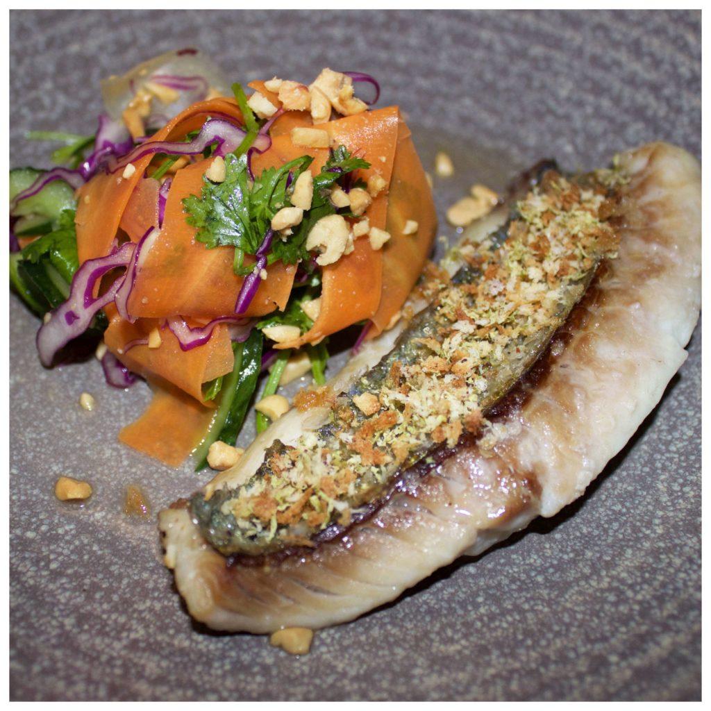 Fish dish at Vomo