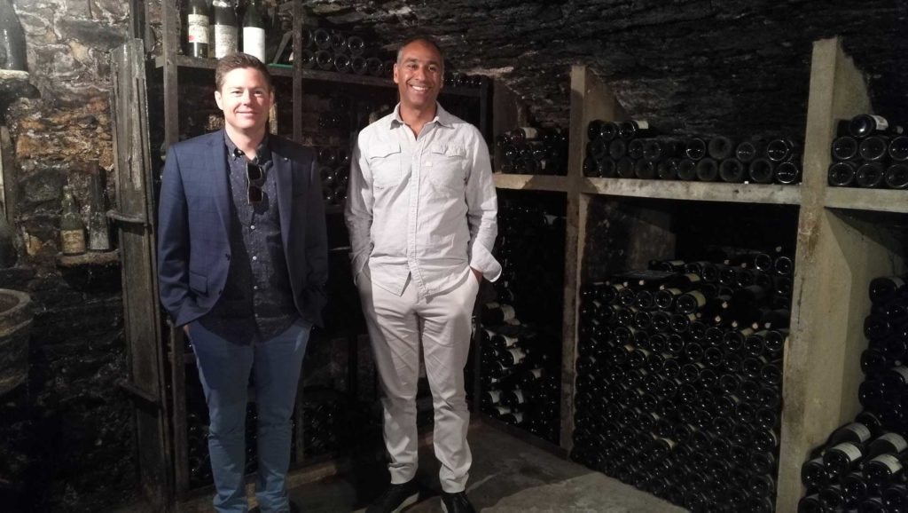 Brandon and Puneet visit the Domaine Fabien Coche winery