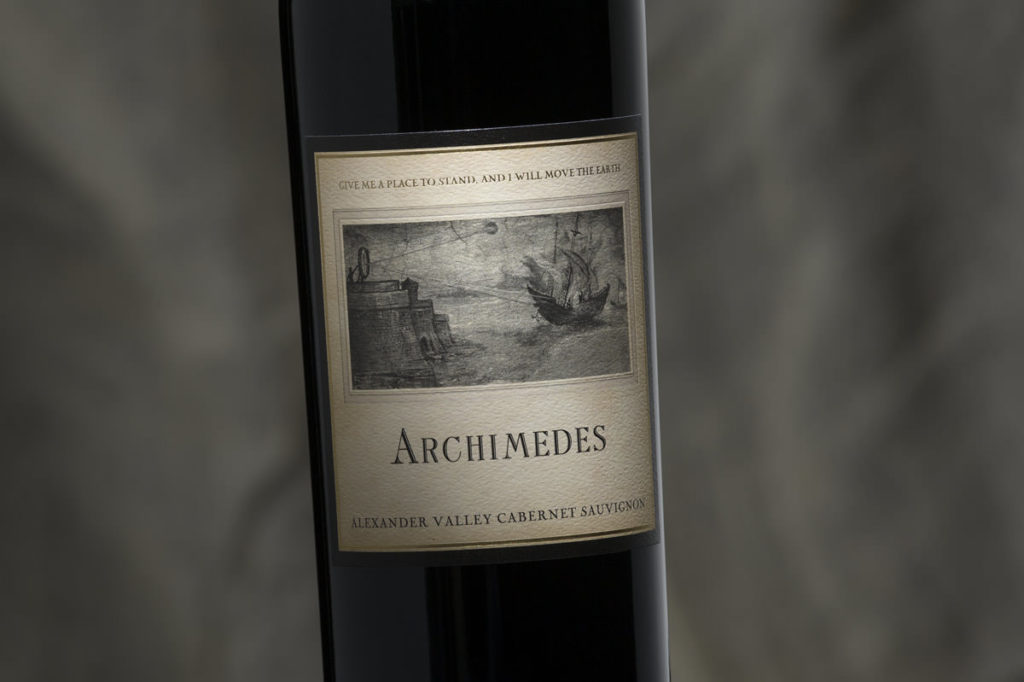Francis Ford Coppola Archimedes wine