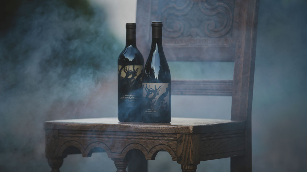 Phantom Chardonnay bottle