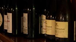 Natural wine lineup