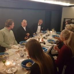 Folium Kazuya Wine Matched Dinner Event