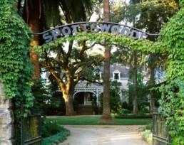 Spottswoode Estate Entrance