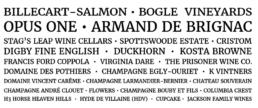 Wine brand list