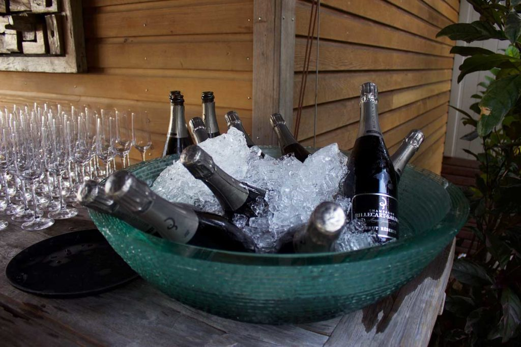 Billecart-Salmon Champagne at VOMO Island Resort