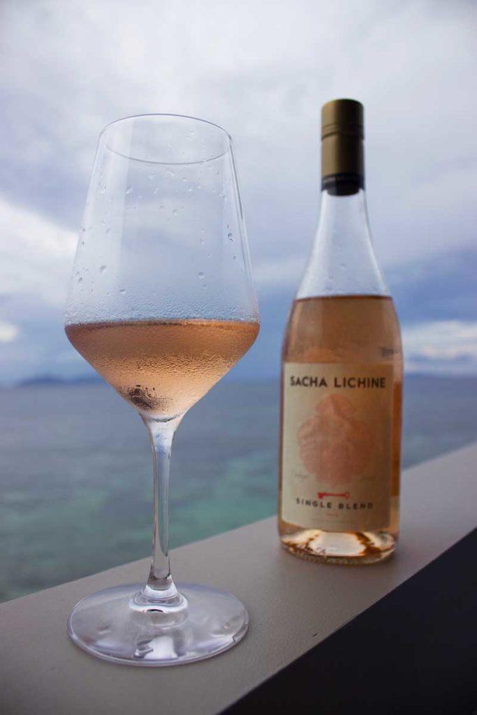 Sacha Lichine Rose on VOMO Island